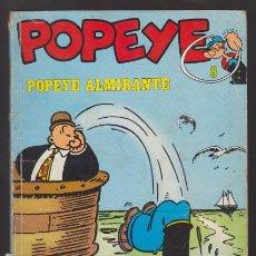 Cómics: POPEYE 8 POPEYE ALMIRANTE, ZABOLY / BUD SAGENDORF. BURU LAN EDICIONES BURULAN.. Lote 49960690
