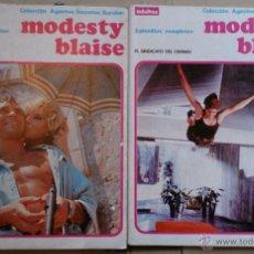 Cómics: MODESTY BLAISE - VOLUMENES 1 Y 2 - BURU LAN - 1974. Lote 50036702