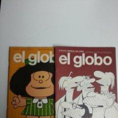 Cómics: EL GLOBO LOTE DE 2 Nº 1-3. Lote 50647932