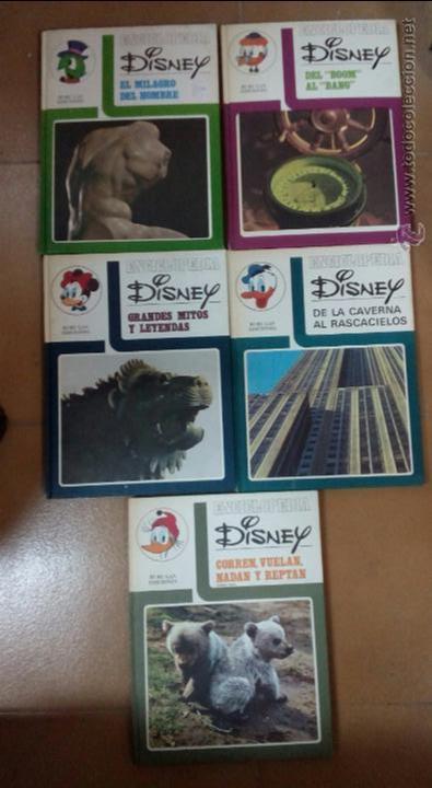 Cómics: Enciclopedia Disney,5 volumenes, tapa dura - Foto 2 - 50785323