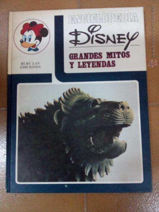 Cómics: Enciclopedia Disney,5 volumenes, tapa dura - Foto 3 - 50785323
