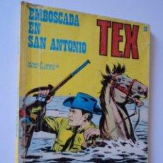 Cómics: COMIC TACO TEX Nº 36 EMBOSCADA EN SAN ANTONIO. ED. BURU LAN 96 PAG. 25 PTS 1971. R.100. Lote 50809808