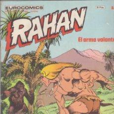 Comics: RAHAN Nº 16. BURULAN 1974,.. Lote 50862443
