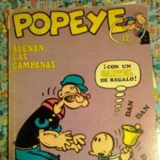 Cómics: POPEYE-SUENAN LAS CAMPANAS Nº 12-AÑO 1971. Lote 50927905