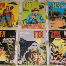 Cómics: TEX 1 2 34 43 54 55 BURULAN 6 NUMEROS. Lote 51055745
