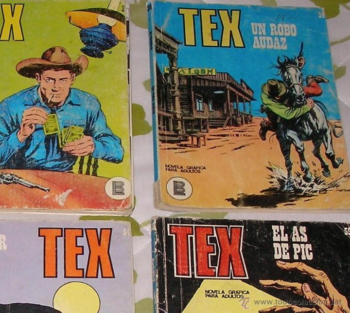 Cómics: Tex 1 2 34 43 54 55 Burulan 6 numeros - Foto 2 - 51055745