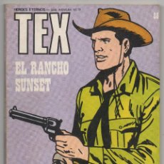 Cómics: TEX Nº 88 (BURU LAN 1974). Lote 51214310