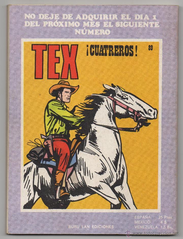 Cómics: TEX nº 88 (Buru Lan 1974) - Foto 3 - 51214310