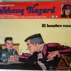 Cómics: JOHNNY HAZARD Nº 3 EL HOMBRE RANA - BURU LAN 1973. Lote 51217562