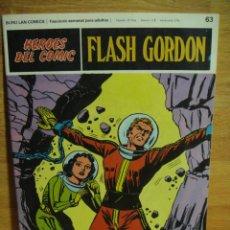 Cómics: FLASH GORDON Nº 63 - HEROES DEL COMIC - BURULAN. Lote 51392595