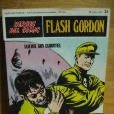 Cómics: FLASH GORDON Nº 23 - HEROES DEL COMIC - BURULAN. Lote 51392843
