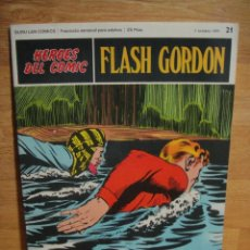 Cómics: FLASH GORDON Nº 21 - HEROES DEL COMIC - BURULAN. Lote 51392861