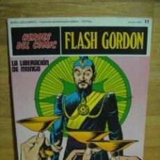 Cómics: FLASH GORDON Nº 11 - HEROES DEL COMIC - BURULAN. Lote 51392915
