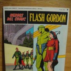 Cómics: FLASH GORDON Nº 9 - HEROES DEL COMIC - BURULAN. Lote 51392928