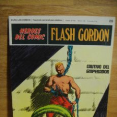Cómics: FLASH GORDON Nº 09 - HEROES DEL COMIC - BURULAN. Lote 51393056