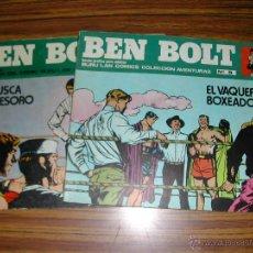 Cómics: 2 COMICS. BEN BOLT. Nº 5, 7. ED BURU LAN COMICS. AÑO 1973. C9400.. Lote 51539981