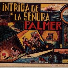 Cómics: LAINTRIGA DE LA SEÑORA PALMER. LAS GRANDES AVENTURAS. CON CROMOS. Lote 51695309