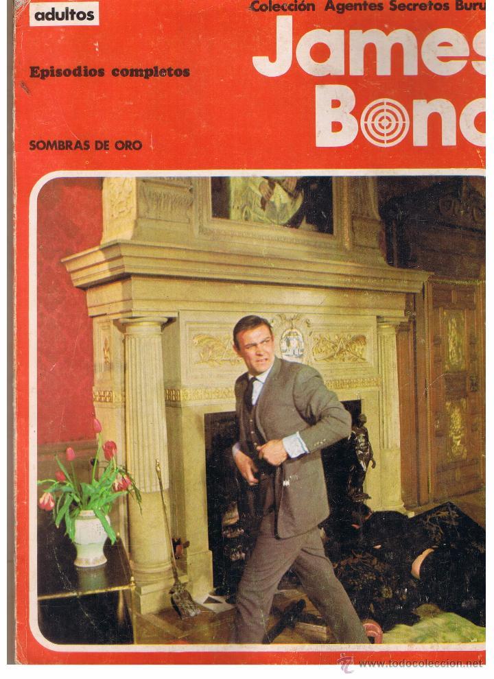 COLECCIÓN AGENTES SECRETOS. JAMES BOND. EPISODIOS COMPLETOS. BURU LAN 1971(ST) (Tebeos y Comics - Buru-Lan - James Bond)
