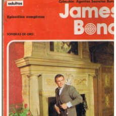 Cómics: COLECCIÓN AGENTES SECRETOS. JAMES BOND. EPISODIOS COMPLETOS. BURU LAN 1971(ST). Lote 51778782