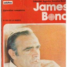 Cómics: COLECCIÓN AGENTES SECRETOS. JAMES BOND. EPISODIOS COMPLETOS. BURU LAN 1971(ST). Lote 51778812
