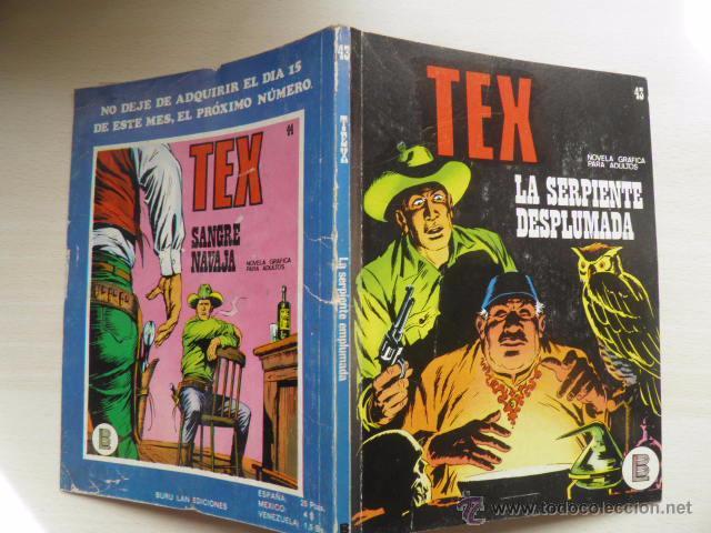 NUMERO 43 DE TEX (Tebeos y Comics - Buru-Lan - Tex)