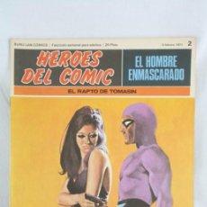 Cómics: CÓMIC EL HOMBRE ENMASCARADO - FASCÍCULO HÉROES DEL CÓMIC - Nº 2. EL RAPTO DE TOMASIN - BURU LAN. Lote 52335769