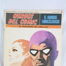 Cómics: CÓMIC EL HOMBRE ENMASCARADO - FASCÍCULO HÉROES CÓMIC - Nº 3. EL PRISIONERO DEL HIMALAYA - BURU LAN. Lote 52335792