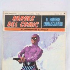 Cómics: CÓMIC EL HOMBRE ENMASCARADO - FASCÍCULO HÉROES CÓMIC - Nº 4. EL MISTERIO DE BAROGAR - BURU LAN. Lote 52335805