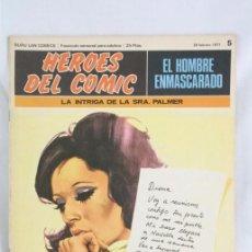 Cómics: CÓMIC EL HOMBRE ENMASCARADO - FASCÍCULO HÉROES CÓMIC - Nº 5. LA INTRIGA DE LA SRA PALMER - BURU LAN. Lote 52335821