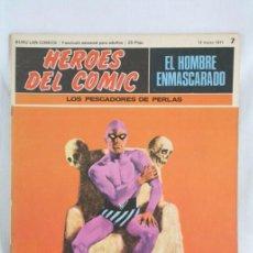 Cómics: CÓMIC EL HOMBRE ENMASCARADO - FASCÍCULO HÉROES CÓMIC - Nº 7. LOS PESCADORES DE PERLAS - BURU LAN. Lote 52335841