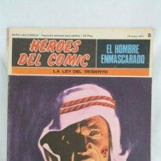 Cómics: CÓMIC EL HOMBRE ENMASCARADO - FASCÍCULO HÉROES CÓMIC - Nº 8. LA LEY DEL DESIERTO - BURU LAN. Lote 52335857