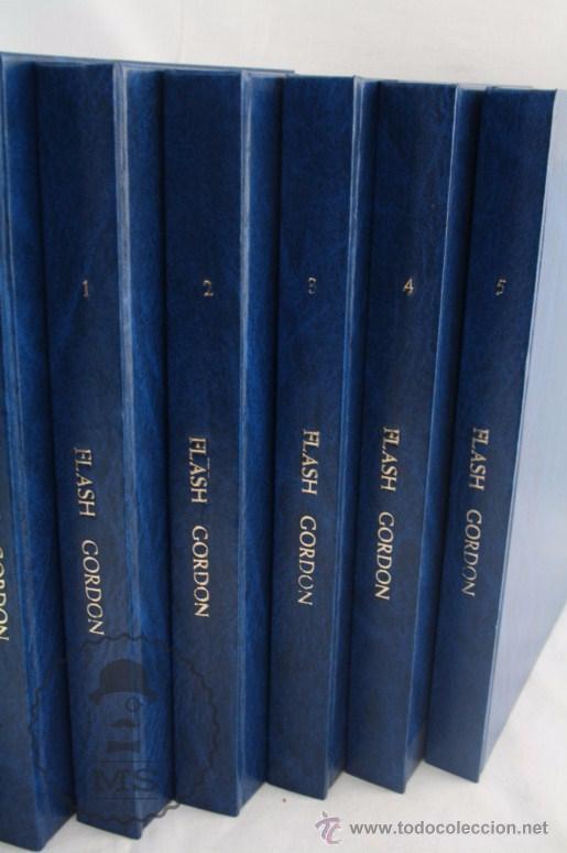 Cómics: Conjunto de 8 Tomos Colección Flash Gordon de Buru Lan - Tomos 01 al 5 + Otro Tomo - Incompleta - Foto 3 - 52338391