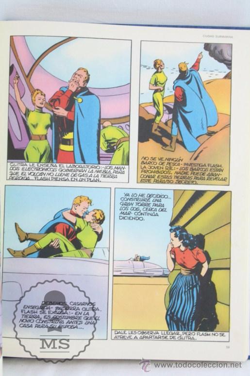 Cómics: Conjunto de 8 Tomos Colección Flash Gordon de Buru Lan - Tomos 01 al 5 + Otro Tomo - Incompleta - Foto 5 - 52338391