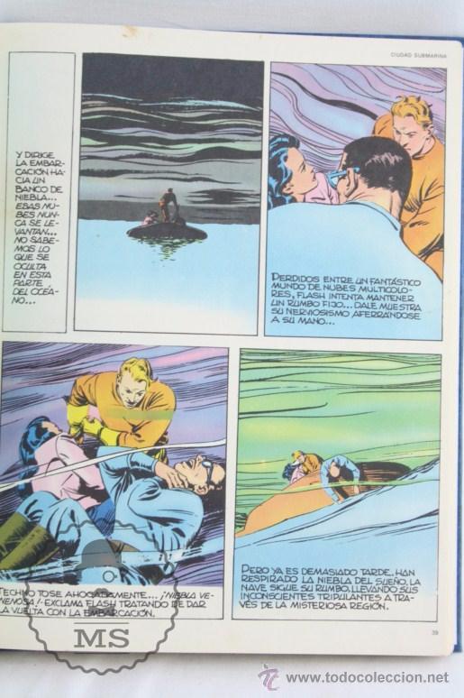 Cómics: Conjunto de 8 Tomos Colección Flash Gordon de Buru Lan - Tomos 01 al 5 + Otro Tomo - Incompleta - Foto 6 - 52338391