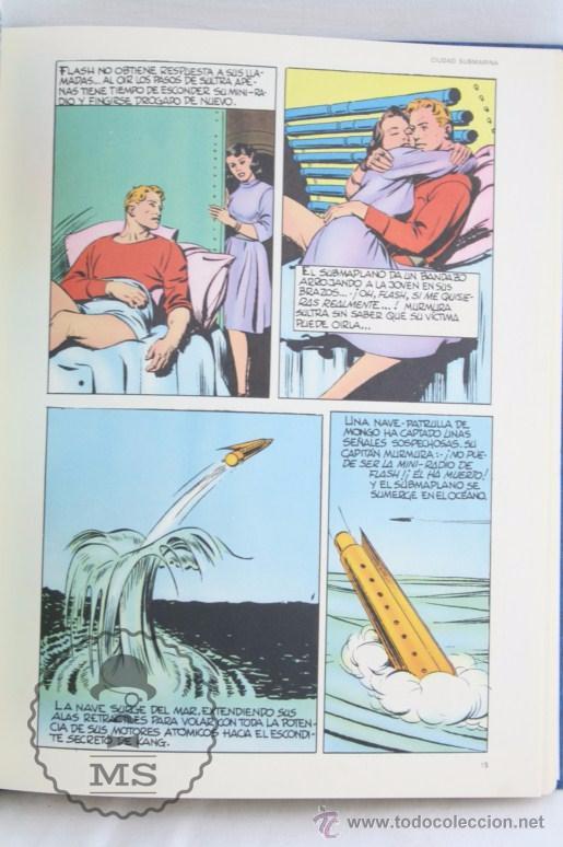 Cómics: Conjunto de 8 Tomos Colección Flash Gordon de Buru Lan - Tomos 01 al 5 + Otro Tomo - Incompleta - Foto 7 - 52338391