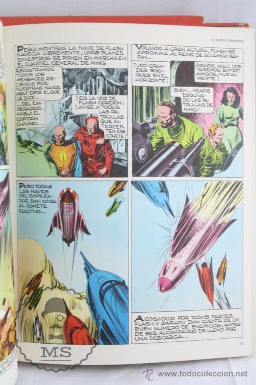 Cómics: Pareja de Tomos - Flash Gordon, de Buru Lan - Tomos 01 y 02 - Años 70 - Foto 5 - 52338538