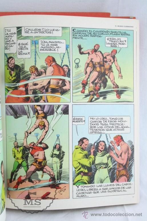 Cómics: Pareja de Tomos - Flash Gordon, de Buru Lan - Tomos 01 y 02 - Años 70 - Foto 6 - 52338538