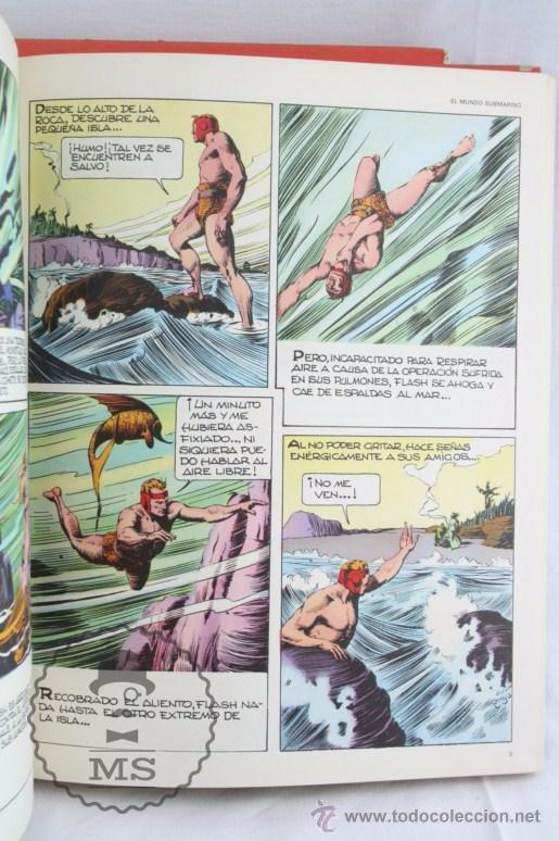 Cómics: Pareja de Tomos - Flash Gordon, de Buru Lan - Tomos 01 y 02 - Años 70 - Foto 7 - 52338538