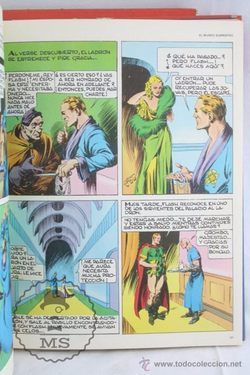 Cómics: Pareja de Tomos - Flash Gordon, de Buru Lan - Tomos 01 y 02 - Años 70 - Foto 9 - 52338538