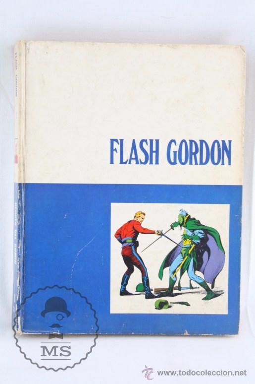 TOMO DE CÓMIC FLASH GORDON, DE BURU LAN - TOMO Nº 2 - AÑOS 70, HERACLIO FOURNIER (Tebeos y Comics - Buru-Lan - Flash Gordon)