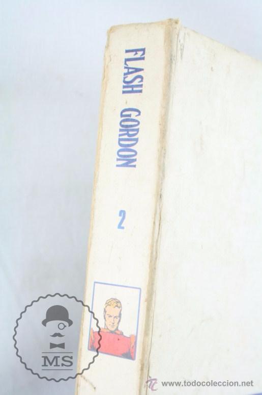 Cómics: Tomo de Cómic Flash Gordon, de Buru Lan - Tomo Nº 2 - Años 70, Heraclio Fournier - Foto 2 - 52340230