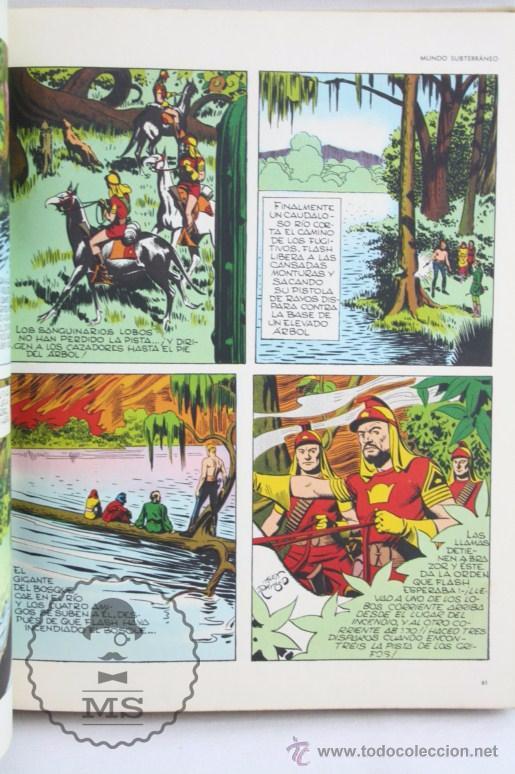 Cómics: Tomo de Cómic Flash Gordon, de Buru Lan - Tomo Nº 2 - Años 70, Heraclio Fournier - Foto 3 - 52340230