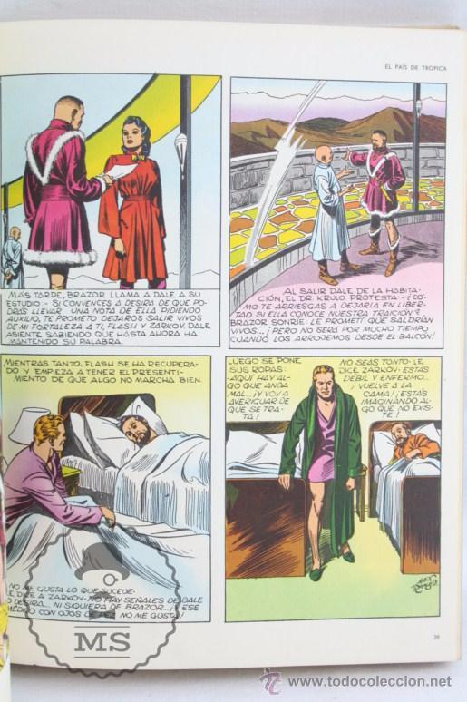 Cómics: Tomo de Cómic Flash Gordon, de Buru Lan - Tomo Nº 2 - Años 70, Heraclio Fournier - Foto 4 - 52340230