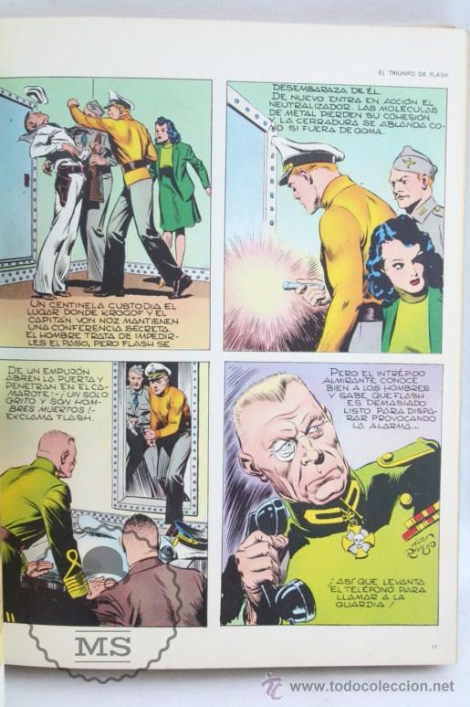 Cómics: Tomo de Cómic Flash Gordon, de Buru Lan - Tomo Nº 2 - Años 70, Heraclio Fournier - Foto 5 - 52340230