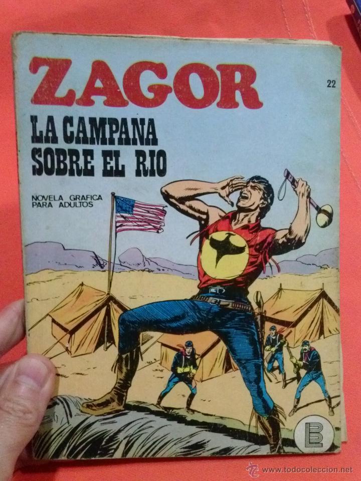 COMIC ZAGOR LA CAMPAÑA SOBRE EL RIO (Tebeos y Comics - Buru-Lan - Zagor)