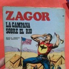 Cómics: COMIC ZAGOR LA CAMPAÑA SOBRE EL RIO. Lote 52572699