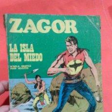 Cómics: COMIC ZAGOR LA ISLA DEL MIEDO . Lote 52572724