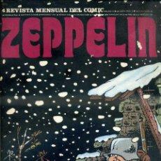 Cómics: ZEPPELIN Nº 4 BURU LAN. Lote 52862712