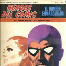 Cómics: HEROES DEL COMIC HOMBRE ENMASCARADO Nº 3. Lote 52862979