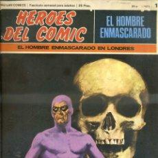 Cómics: HEROES DEL COMIC HOMBRE ENMASCARADO Nº 1. Lote 52863003